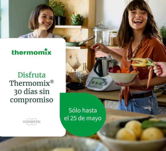 REGALO CON TU Thermomix® TM6.