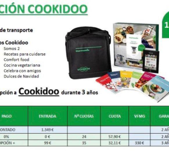 Nueva Edicion Cookidoo con 0% de Intereses