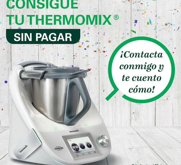 Consigue tu Thermomix® a coste 0