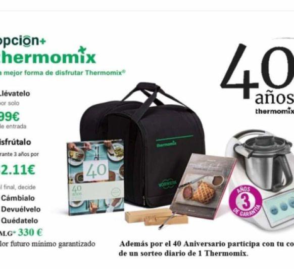 Edicion 40 Aniversario Thermomix®