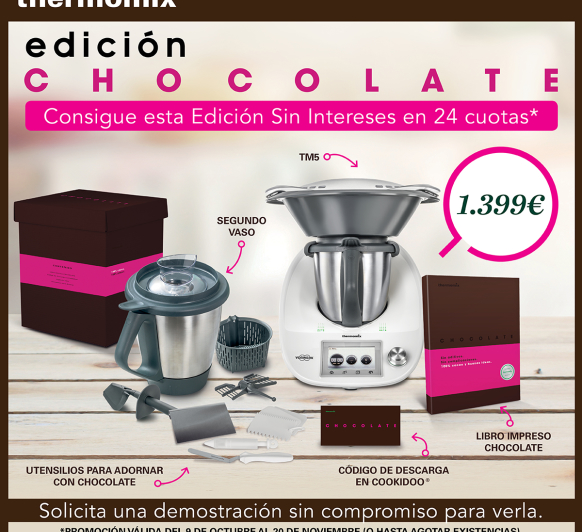 Thermomix® Y EL CHOCOLATE