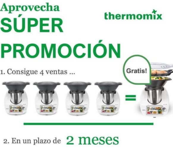 RECLUTAMIENTO Thermomix® 4X1