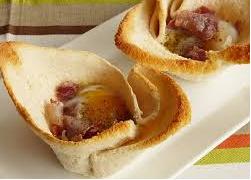 Tartaletas de huevo y jamón con Thermomix®