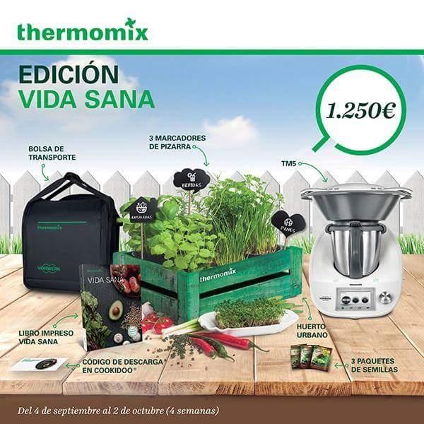 FANTÁSTICA EDICIÓN DE VIDA SANA CON Thermomix®