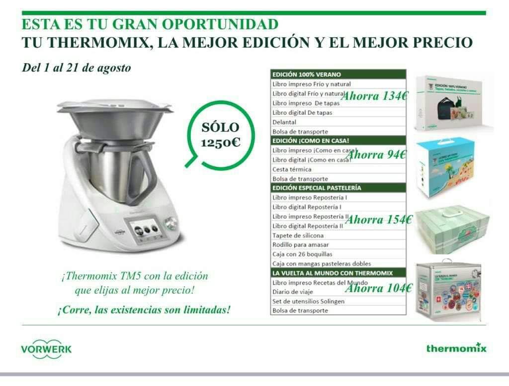 Thermomix® CON EDICIONES A ELEGIR