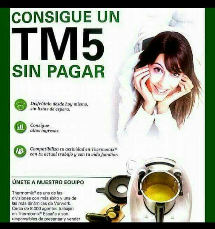 Thermomix® TM5 sin pagar