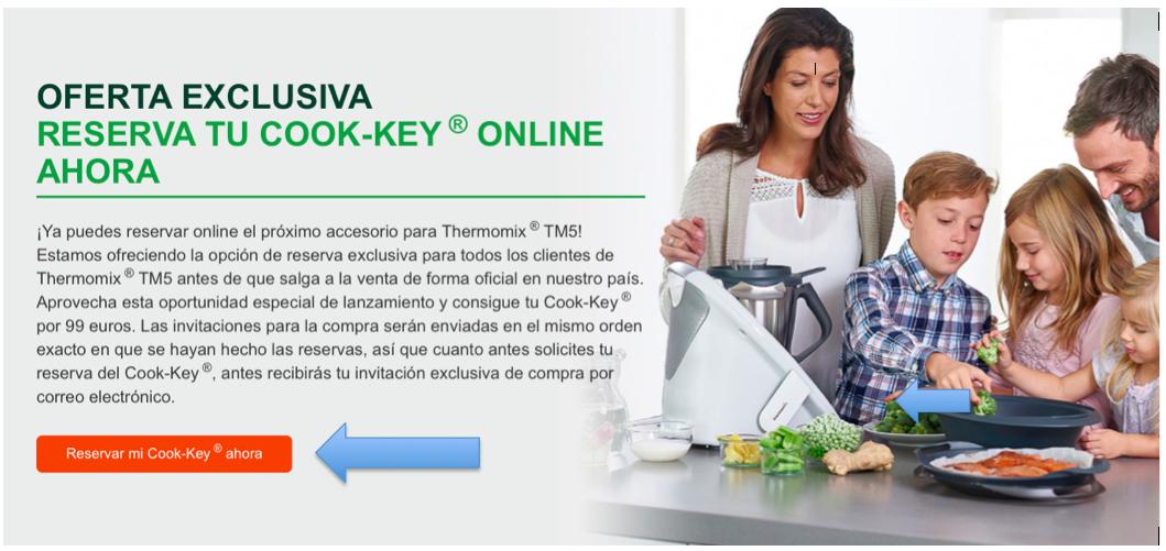 LLEGA EL COOK-KEY DE Thermomix®