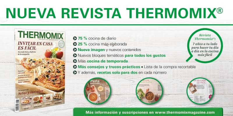 Nueva revista Thermomix® .