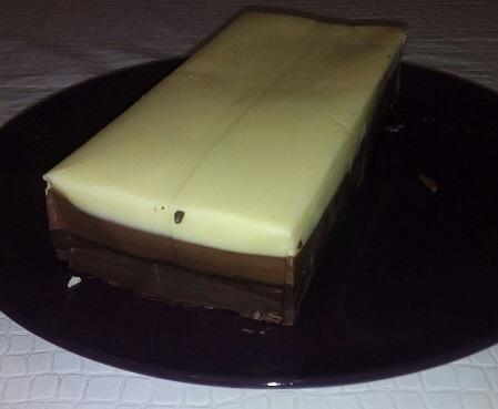 Turrón de 3 chocolates con Thermomix®