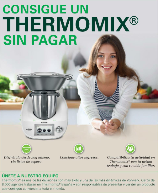 CONSIGUE UN Thermomix® TM5 SIN PAGAR