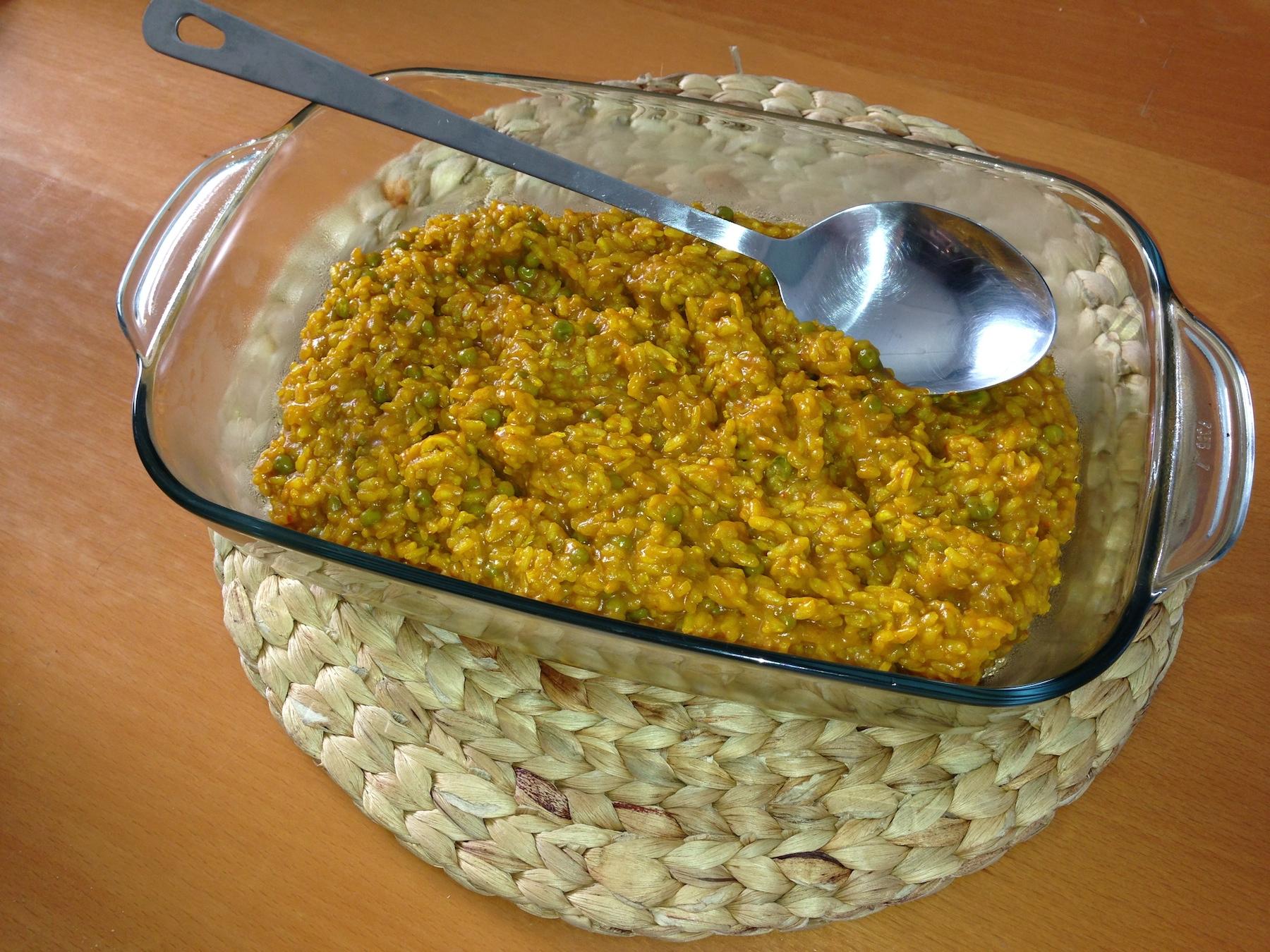 Arroz Amarillo con Pollo en Thermomix®