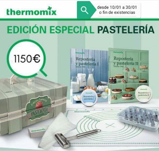 Thermomix® CON SU EDICIÓN PASTELERÍA