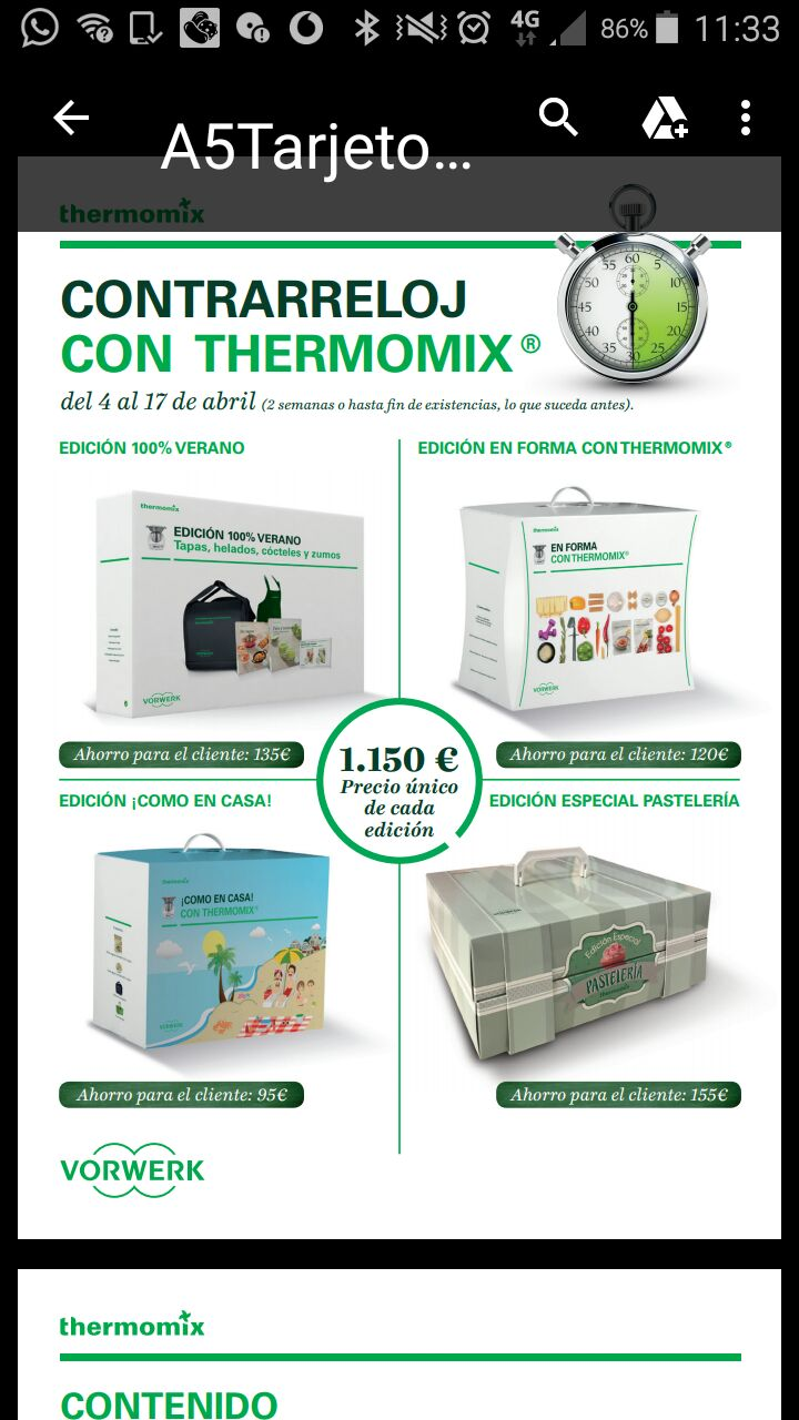 A contrarreloj con Thermomix®