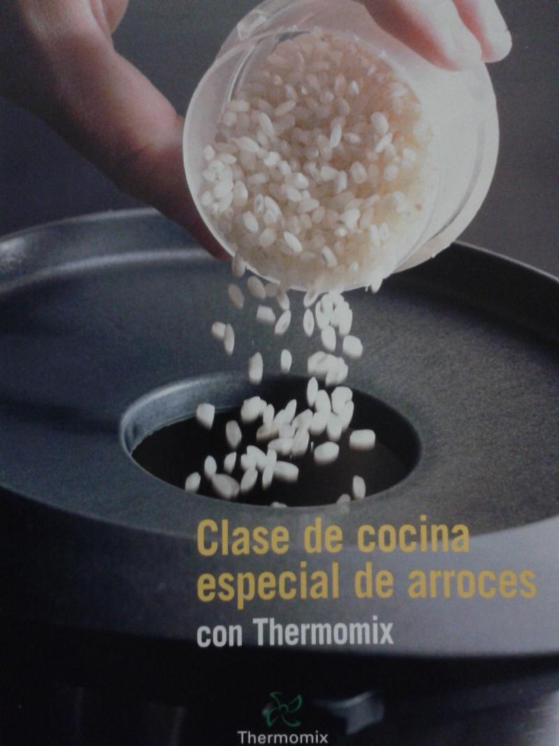 CLASE DE COCINA ESPECIAL DE ARROCES.