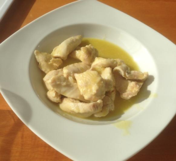Pollo al ajillo con Thermomix®