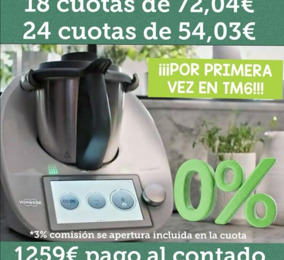 PRIMERA VEZ!!!! TM6 O% INTERESES!!!