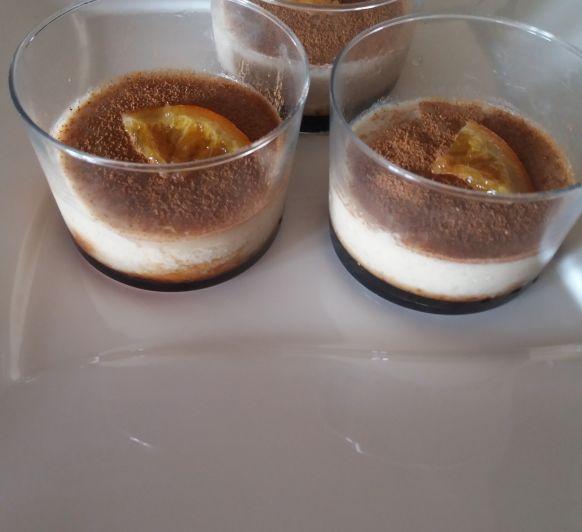 Natillas de naranja confitadas con Thermomix®