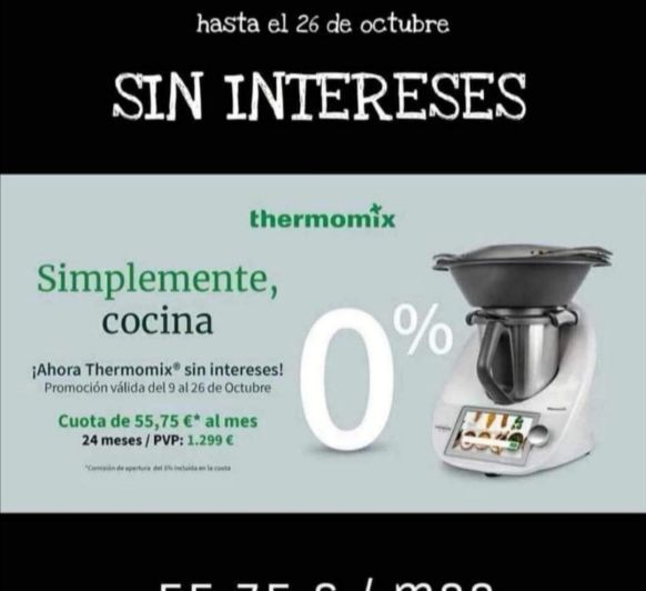 Último día de Thermomix® al 0%