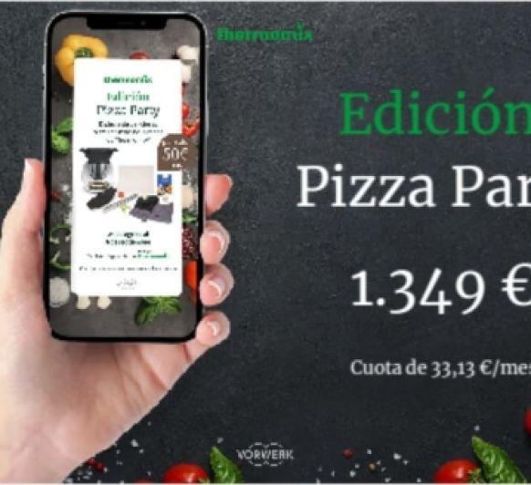 Te gusta la Pizza? es tu edición Ideal. Pizza Party!