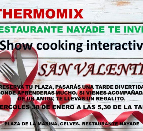 Thermomix® EN GELVES, SAN VALENTIN