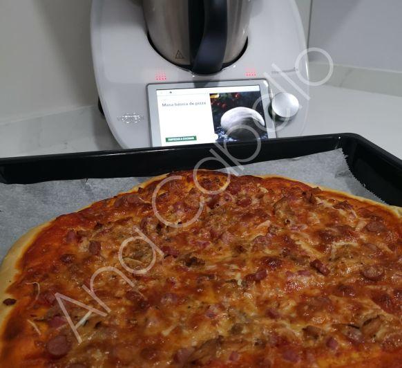 MASA BÁSICA DE PIZZA