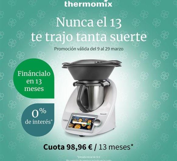 Promoción sin intereses Thermomix®