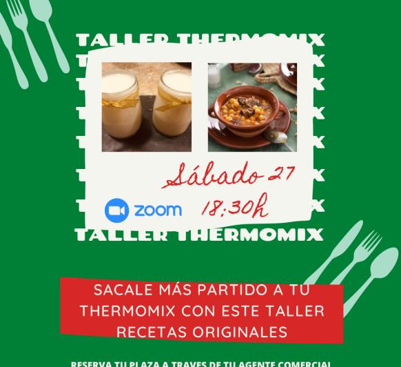 Taller SACALE PARTIDO A TU Thermomix®