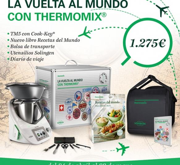 Nueva Edición: ''La vuelta al mundo con Thermomix® ''