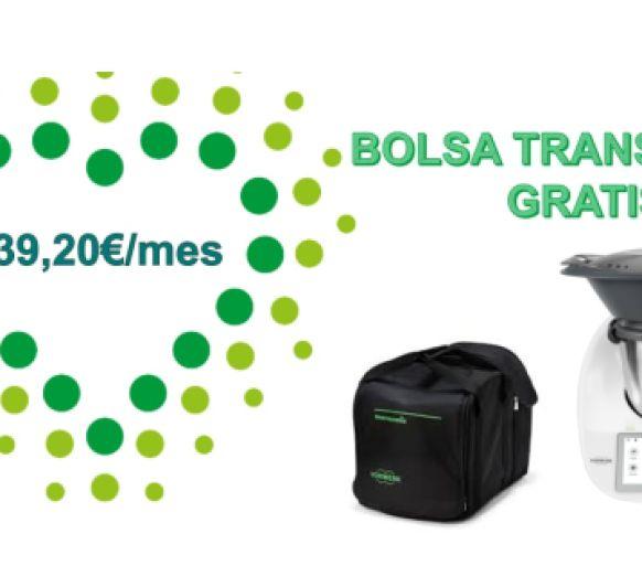 Thermomix® y bolsa de transporte de regalo