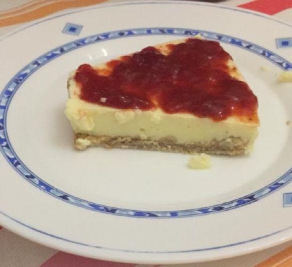 Tarta de queso ligera sin azúcar con Thermomix®