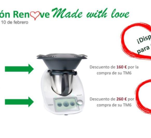 Promoción Renove '' Made with love''