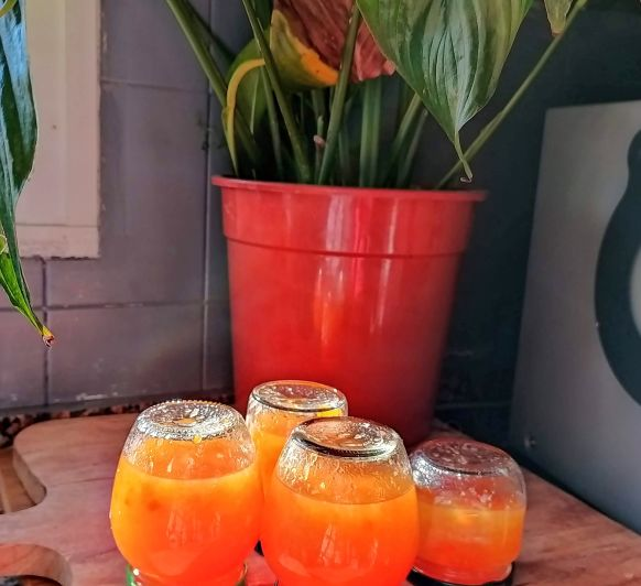 Mermelada de naranjas y zanahoria espesa con Thermomix®