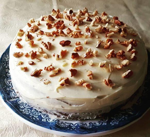 Tarta de zanahorias o Carrot cake