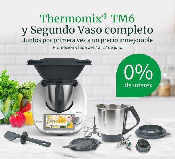 Thermomix® con un Segundo Vaso al 0% de interés