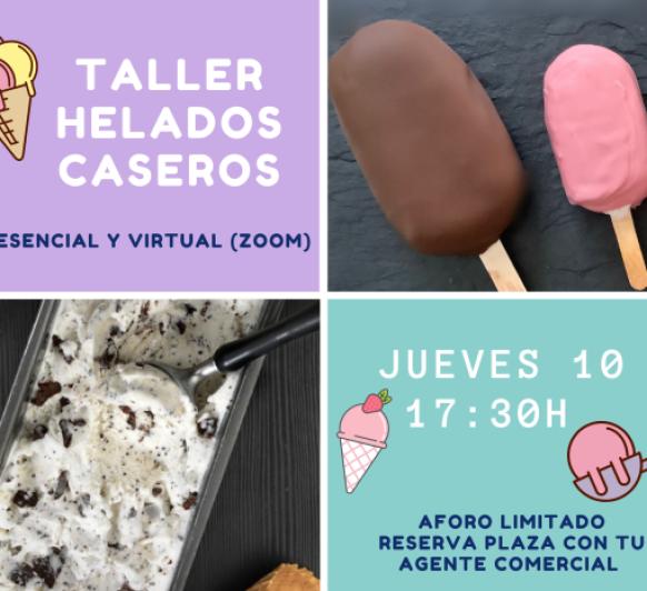Taller HELADOS CASEROS