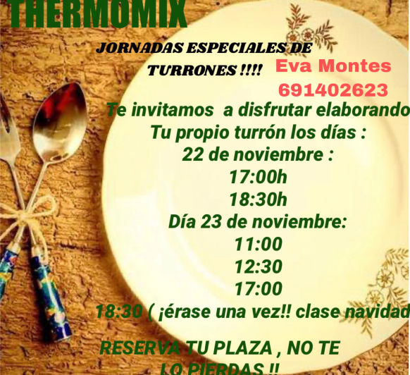 DO AND CARRY : Taller de turrones Thermomix®