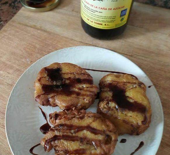 Tortillitas de bacalao en Thermomix® con gluten y sin gluten