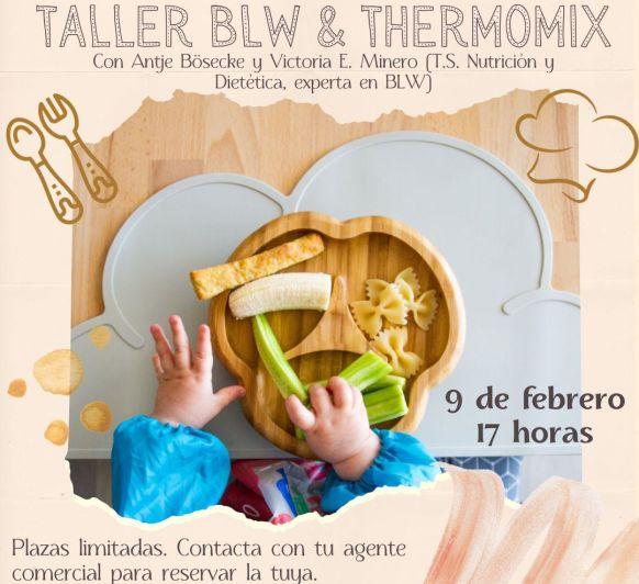 ALIMENTACION BLW PARA BEBES POR ZOOM, cocina para todos en casa con Thermomix® .