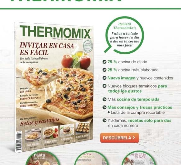 Suscríbete a nuestra nueva revista Thermomix®