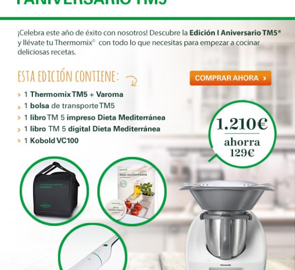Nueva promoción Thermomix® TM5.