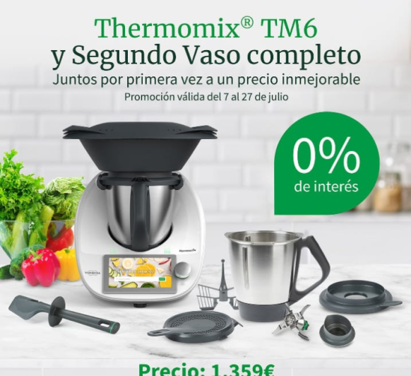 Thermomix® TM 6 SIN INTERESES