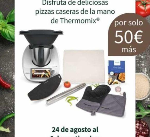 Pizza casera con Thermomix®