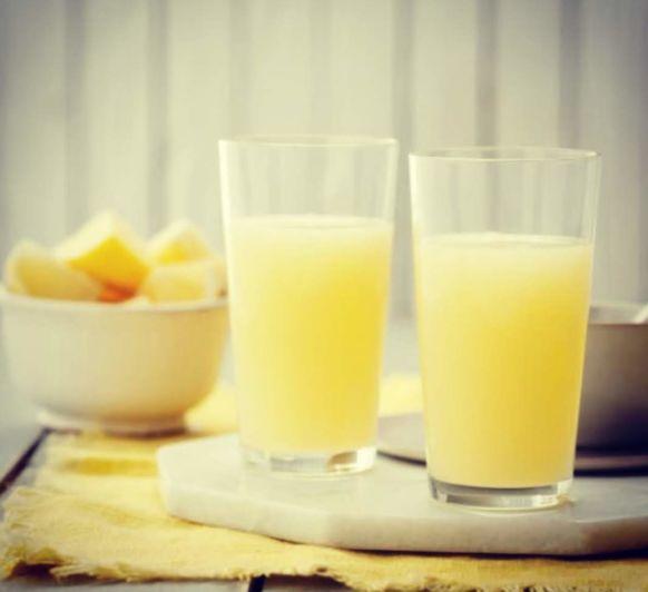 Bebida para las defensas (limón, jengibre y miel)