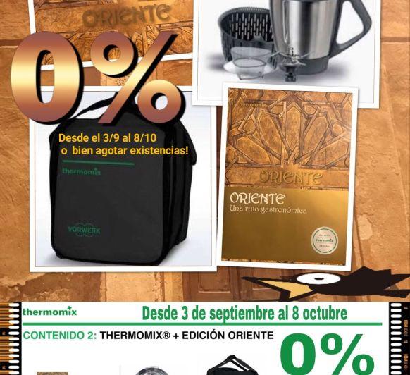 Promoción Thermomix® 0% de interés