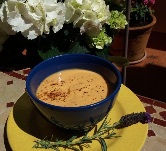Gazpacho de mango con Thermomix®