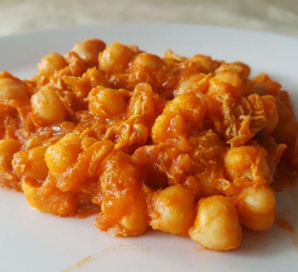 Curry de garbazos o Chana masala