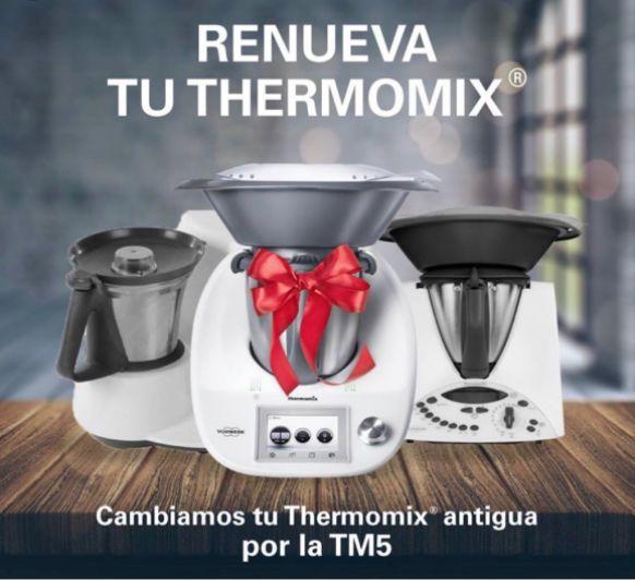 Gran oportunidad para tener el Thermomix® MT5 con el plan renove OFICIAL