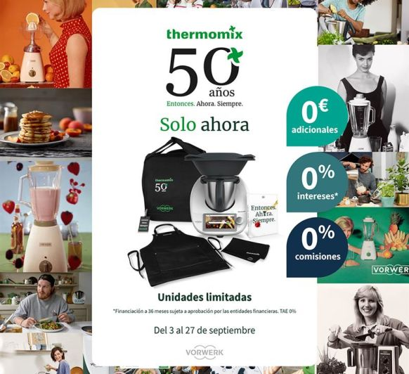 Edición Thermomix® 50 Aniversario