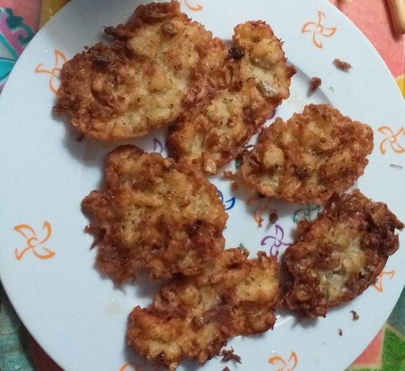 Tortillitas de bacalao :