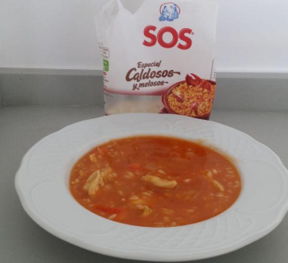 ARROZ CALDOSO CON ESPECIES
